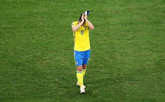 Zlatan Ibrahimovic quitte la scène internationale, le 22 juin à Nice.