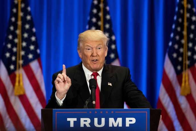 Donald Trump mercredi 22 juin à New York.