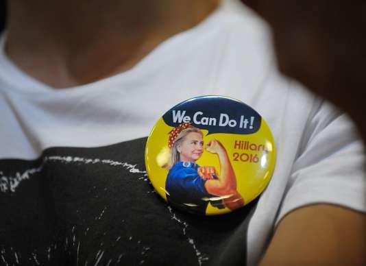 Dans un rassemblement de soutien à Hillary Clinton, à Raleigh (Caroline du Nord), le 22 juin 2016.