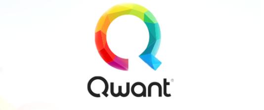 Le logo de Qwant.