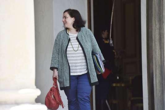 Emmanuelle Cosse, le 22 juin 2016 au palais de l'Elysée. / AFP / ALAIN JOCARD