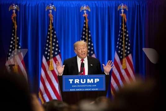 Donald Trump, le 22 juin, à New York.