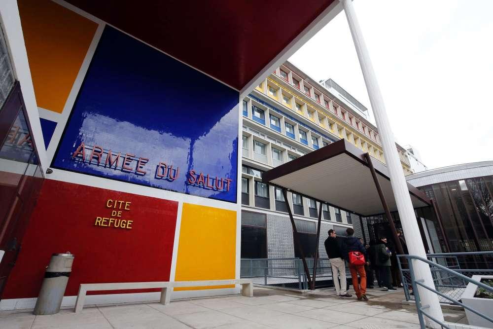 La Cité du refuge, a été créée, 1929 par Le Corbusier et son cousin Pierre Jeanneret pour l'Armée du Salut. Après des années de rénovation, cet édifice a été inauguré par François Hollande le 23 juin.