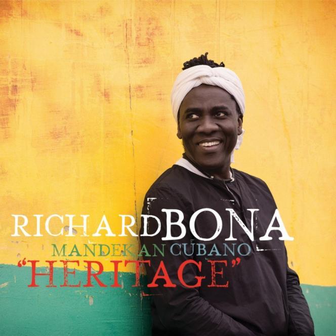 Pochette de l'album « Heritage», de Richard Bona & Mandekan Cubano.