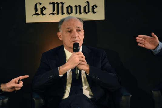 Pierre-André de Chalendar, PDG de Saint-Gobain, invité du Club de l'économie du «Monde», mercredi 22 juin, à Paris.
