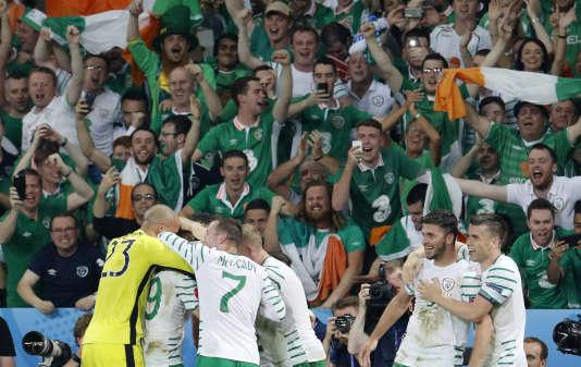 Le match Italie-Irlande à Lille, le 22 juin.