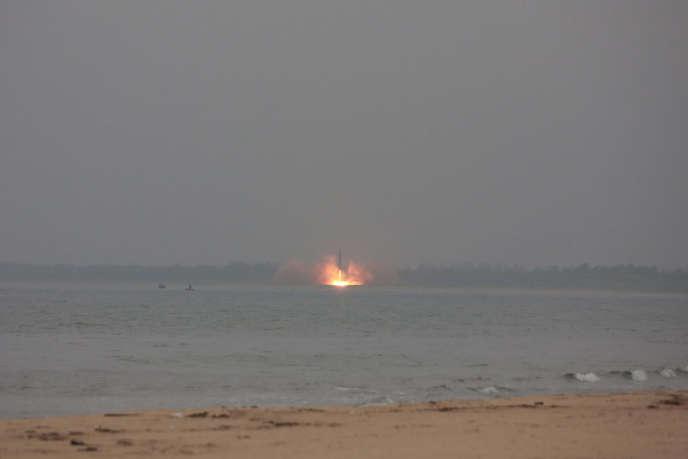 Un test de lance roquette, le 23 juin.