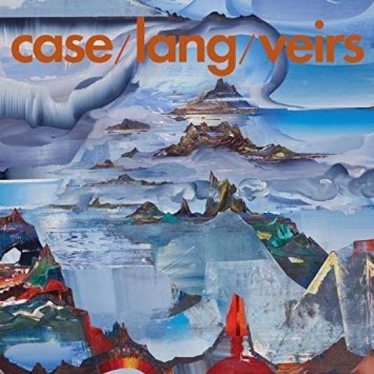 Pochette de l'album« case/lang/veirs», deNeko Case, k.d. lang et Laura Veirs.