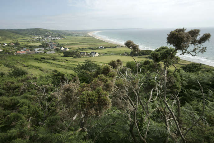 Anse de Vauville, Cotentin.