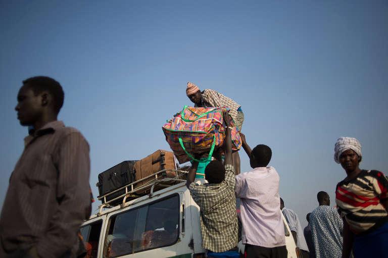 Dans le camp de réfugiés de Kakuma, au Kenya, en janvier 2014.