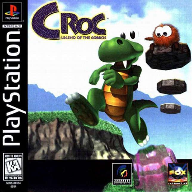 «Croc : Legend of the Goboss», sorti en 1997, est né d'une démo qui a été présentée à Nintendo.