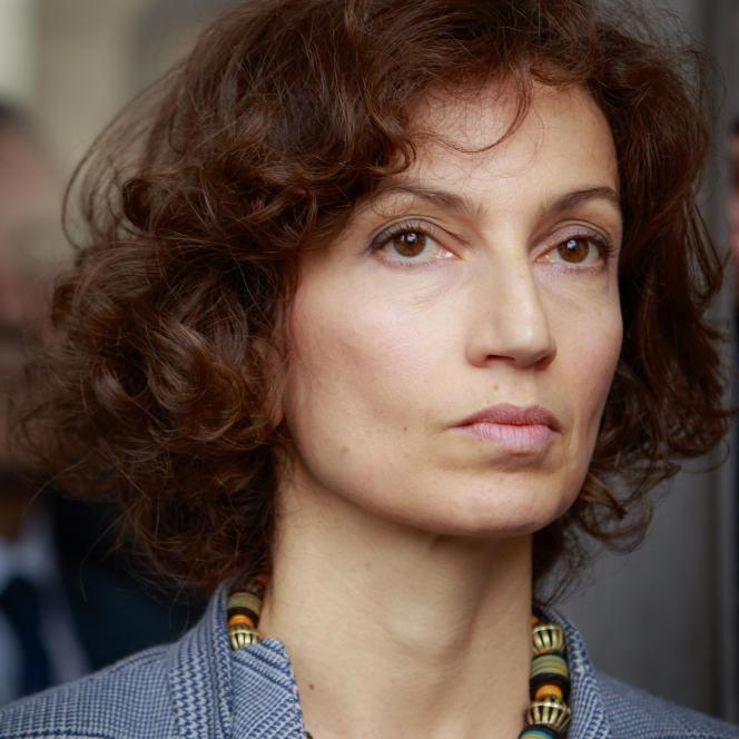 Audrey Azoulay, ministre de la culture le 3 juin 2016