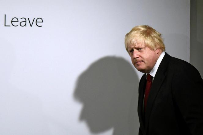 Boris Johnson, ancien maire conservateur de Londres, le 24 juin.