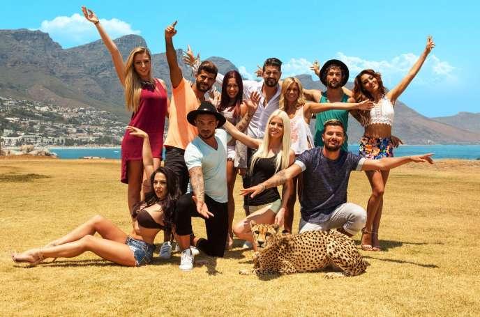 L'équipe des« Marseillais» dans l'émission «Les anges de la téléréalité»sur W9.