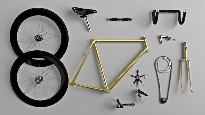 Photos extraites du projet «Type-cycle».