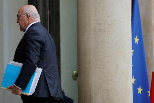 Le ministre des finances, Michel Sapin, en juin 2016.