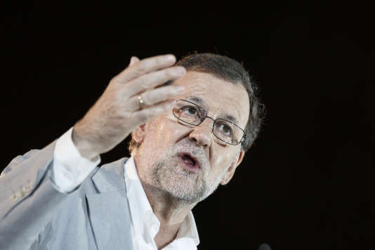 Le conservateur Mariano Rajoy, chef du gouvernement intérimaire, vendredi 24 juin, à Madrid.