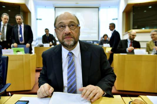 Le président du Parlement européen Martin Schulz, le 24 juin.