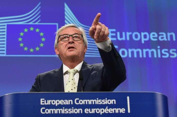 Le président de la Commission, Jean-Claude Juncker, à Bruxelles, le 24 juin 2016.