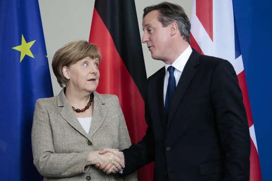 Angela Merkel et David Cameron, le 29mai2015.