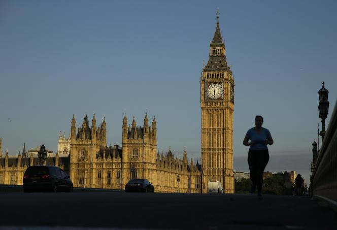 La palais de Westminster, qui accueille le Parlement britannique à Londres.