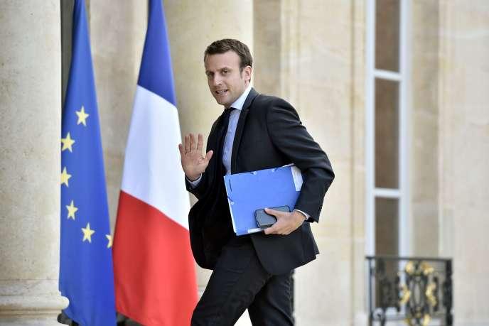 Emmanuel Macron, à l'Elysée, le 24 juin.