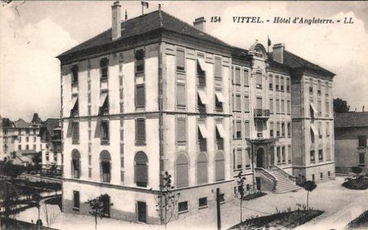 Carte postale ancienne de l'Hôtel d'Angleterre.