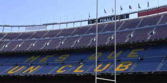 La finale du Top 14 se jouera au Camp Nou, à Barcelone.