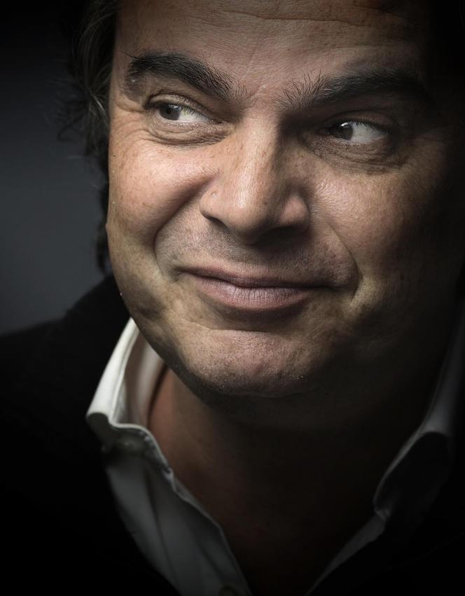 Alexandre Jardin à Paris, le 20 avril 2015.