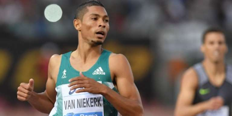 Le sprinteur sud-africain Wayde van Niekerk à Rome, le 2 juin 2016.
