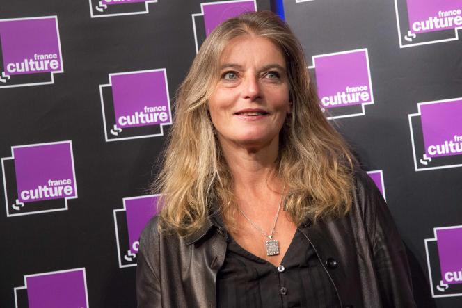 Sandrine Treiner, directrice de France culture, qui affiche sa meilleure performance depuis 10 ans.