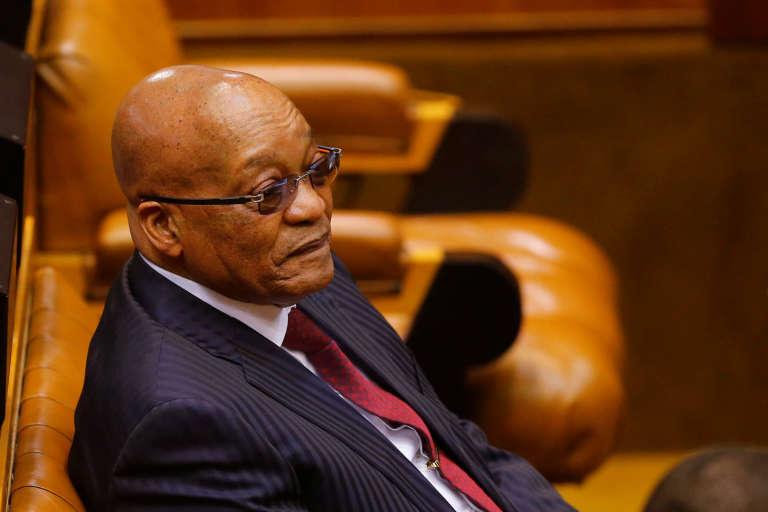 Le président Jacob Zuma à Cape Town, le 17 mai 2016.