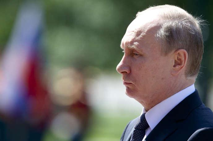 Vladimir Poutine, à Moscou, le 22 juin.