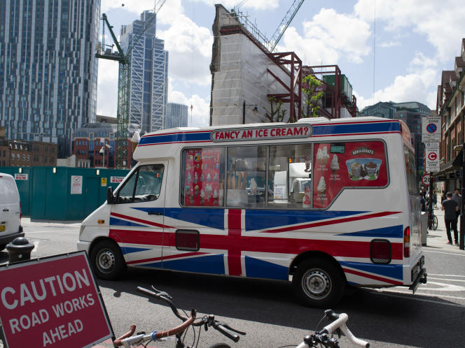 Quartier pauvre de Whitechapel, à Londres le 25 juin.