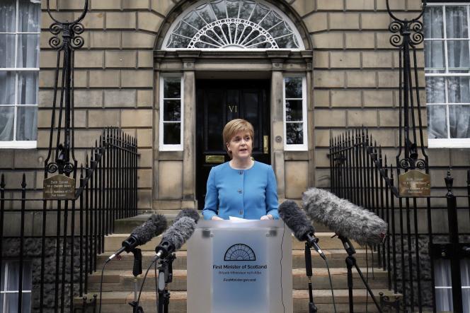 La première ministre écossaise, Nicola Sturgeon, le 25 juin.