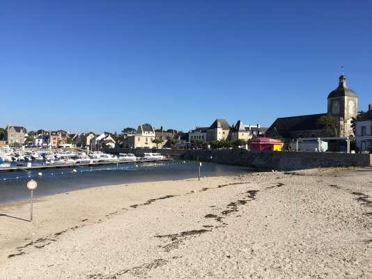 A l'extrême ouest de la Loire-Atlantique, Piriac-sur-mer, vendredi 24 juin.