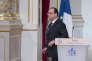 François Hollande, à l'Elysée, le 24 juin.