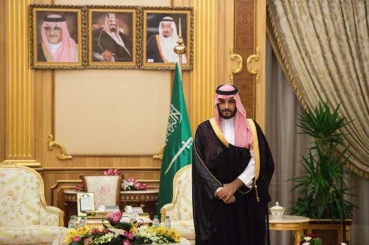 Mohamed Ben Salman, à Riyad, en octobre 2015.