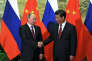 «Comme le montre l'exemple spectaculaire de la Chine, devenue puissance mondiale en l'espace d'une seule génération, le modèle du capitalisme autoritaire représente le premier défi direct à la démocratie libérale depuis la montée du nazisme(Photo : le président chinois Xi Jinping et Vladimir Poutine, le 25 juin, à Pékin).