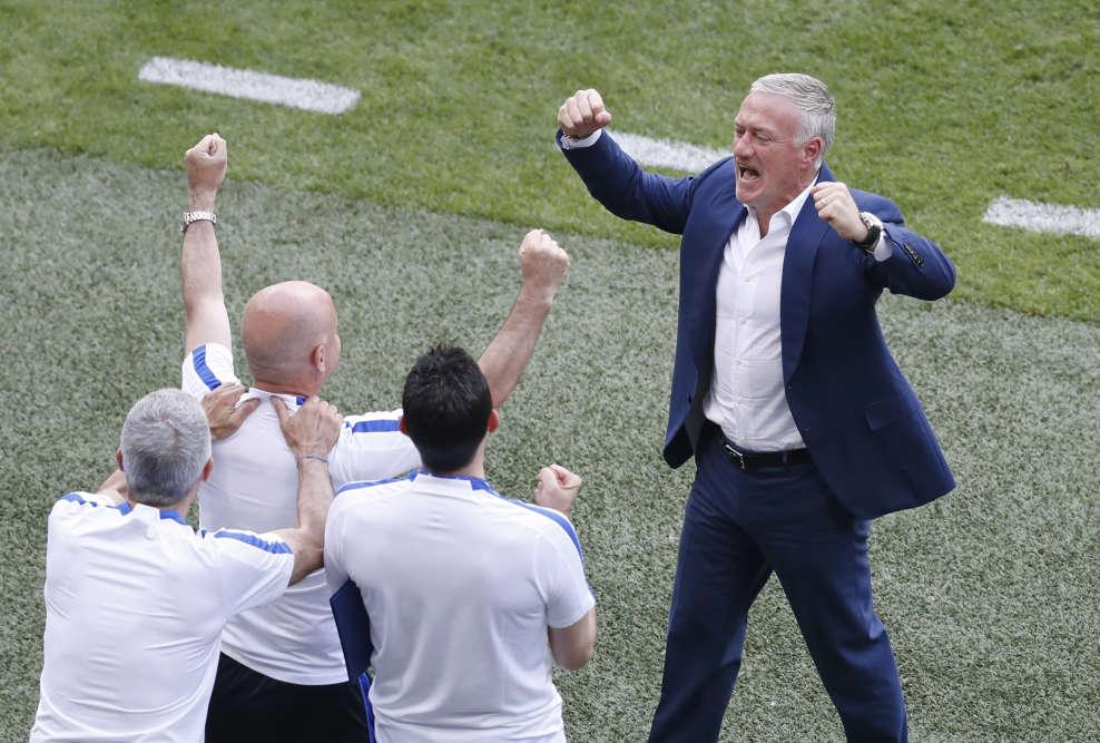 Les Bleus affronteront en quarts de finale le vainqueur du match entre l'Angleterre et l'Islande.