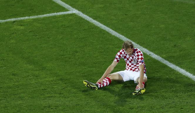 Le joueur croate Ivan Strinic.