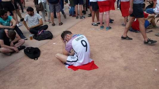Olivier Giroud n'a longtemps pas été dans son assiette avant d'offrir une passe décisive en seconde période.