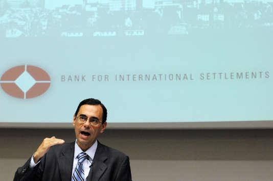 Jaime Caruana, directeur général de la Banque des réglements internationaux, le 28juin2010.