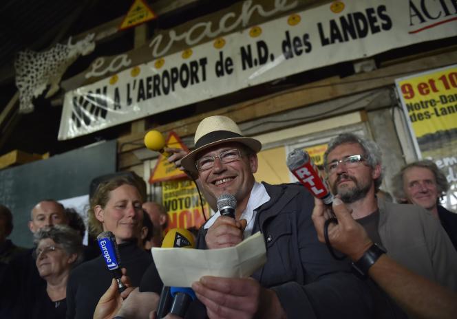 Les opposants au projet de transfert ne démordent pas, malgré la victoire du« Oui» au référendum de Notre-Dame-des-Landes.