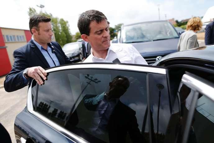 Manuel Valls s'est félicité de la victoire du oui au référendumsur le projet d'aéroport de Notre-Dame-des-Landes, le 26juin.