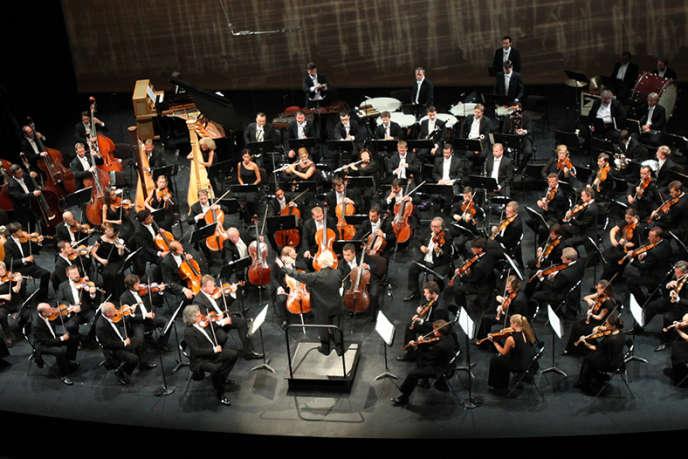 Photo d'un concert lors de l'Annecy Classic Festival.