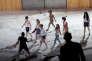 «La Stratégie d'Alice»,écrit d'après «Lysistrata» d'Aristophane, dans la mise en scène d'Emmanuel Daumas aux Nuits de Fourvière à Lyon en juin 2016.