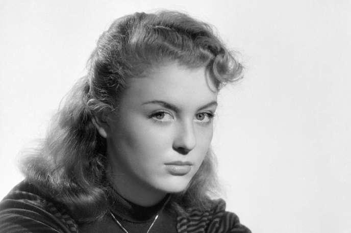 Nicole Courcel en 1952.