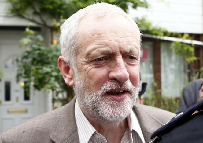 Le leader du parti travailliste, Jeremy Corbyn, le 27 juin à Londres.