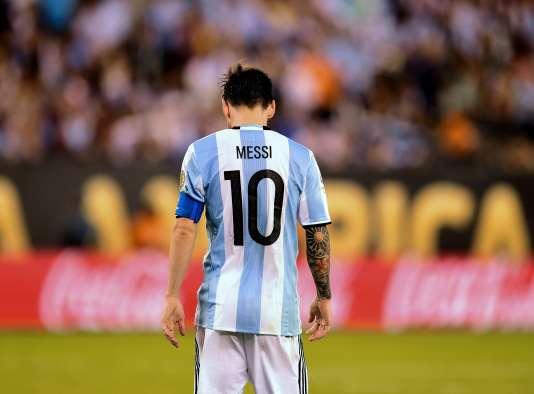 Lionel Messi a perdu trois finales d'affilée avec l'Argentine.